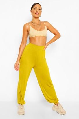 boohoo Jersey Basic Hareem pants