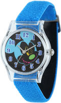 Disney Mickey Mouse Kids Blue Nylon Strap Watch