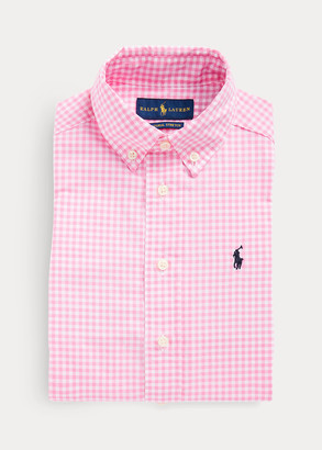 Ralph Lauren Gingham Cotton Dress Shirt