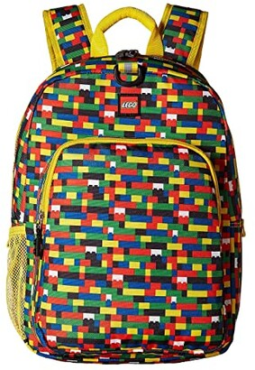 Lego Brick Wall Heritage Classic Backpack (Assorted) Backpack Bags