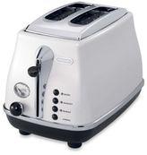 De'Longhi Delonghi Icona 2-Slice Toaster in White