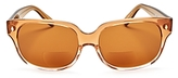 Corinne McCormack Emile Oversized Square Reader Sunglasses, 57mm