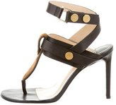 By Malene Birger Leather & Ponyhair Sandals