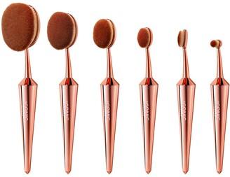 Iconic London ICONIC LONDON Rose Gold Complete Face Brush Set