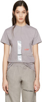 A-Cold-Wall* Grey Reconstructed Invisible Polythene T-shirt