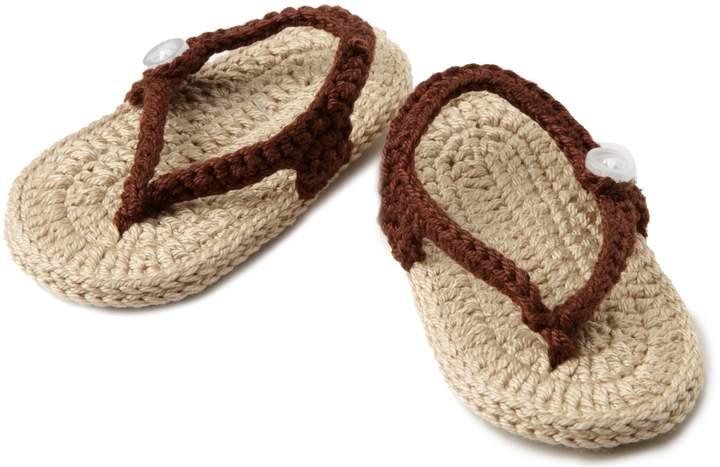 Jefferies Socks Unisex-Baby Newborn My First Flip Flops