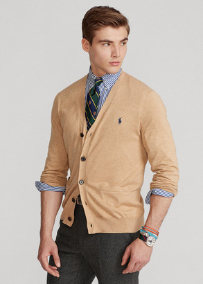 Ralph Lauren Cotton V-Neck Cardigan