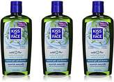 Kiss My Face Cold & Flu Moisturizing Shower Gel, Bath and Body Wash, 16 oz (Pack of 3)