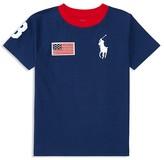Ralph Lauren Boys' Patriotic Big Pony Tee - Little Kid