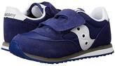 Saucony Kids Originals Jazz Hook Loop (Toddler/Little Kid) (Cobalt Blue) Boys Shoes
