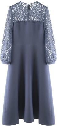 Valentino Midi Dress With Lace