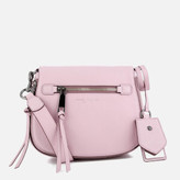 Marc Jacobs Women's Recruit Small Nomad Saddle Bag - Pale Lilac