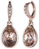 Givenchy Glass Stone Drop Earrings