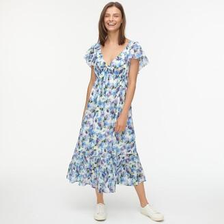 J.Crew Cotton voile sun dress in vintage floral