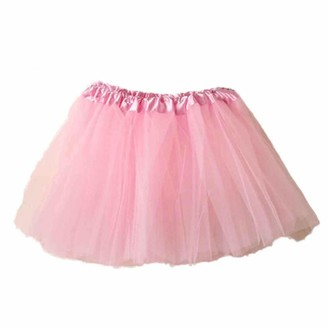Buyao Short Tulle Tutus Skirts for Women Teen Girls 1950s Vintage Tutu Petticoat Ballet Bubble Skirt Blue
