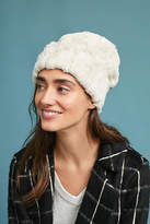 Anthropologie Faux Fur Beanie