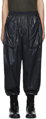 BED J.W. FORD Black Nylon Lounge Pants