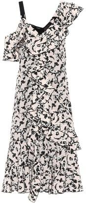 Proenza Schouler Printed silk crepe de chine dress