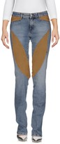 9.2 By Carlo Chionna Denim pants - Item 42569263