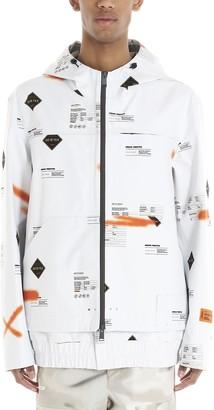 Heron Preston All Over Print Windbreaker Jacket