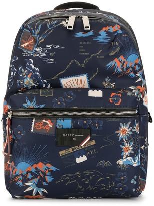Bally Ferey printed backpack