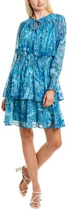 Taylor Smocked Mini Dress