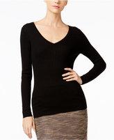 Catherine Malandrino Cashmere Ribbed Sweater