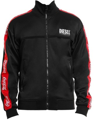 Diesel Coca-Cola Tape Zip-Up Jacket