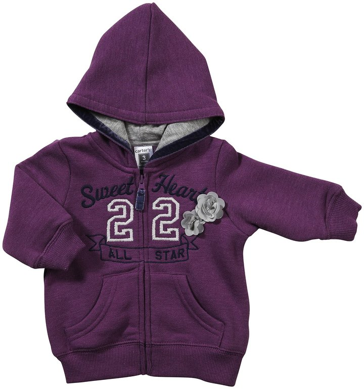 Carter's Infant Long Sleeve Zip Hoodie