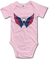 Enlove Washington Capitals BABY Cartoon Short Sleeves Variety Baby Onesies Jumpsuit For Babies Size 6 M
