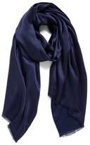 Echo Hammered Silk & Rayon Wrap