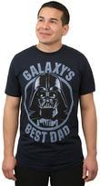 """Men's Star Wars Darth Vader """"Galaxy's Best Dad"""" Tee"""