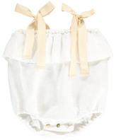 Babe & Tess Sale - Bow Linen Romper