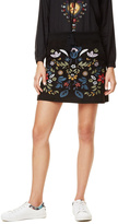Desigual Ariadna Embroidered Skirt