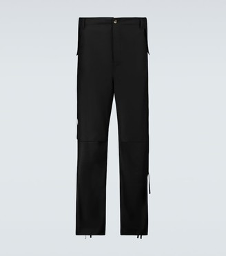 Winnie N.Y.C Wool combat cargo pants