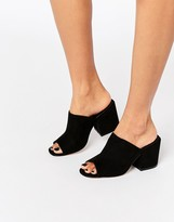 Asos HIGHLAND Heeled Mules