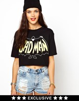 Asos Ichiban Badman Crop T-Shirt Exclusive To