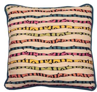 Bifi Italia Color Stripes Linen Cushion