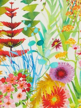 Liberty London Tresco Floral Print Fabric, Yellow/Multi