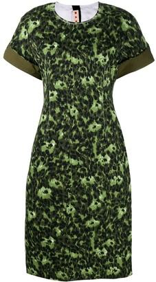 Marni jacquard mid dress