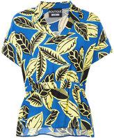 Moschino floral print polo shirt - women - Rayon - 42