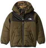 The North Face Kids Reversible Perrito Jacket (Toddler) (New Taupe Green/TNF Black) Boy's Coat
