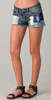 Blank denim Denim Patchwork Cutoff Shorts