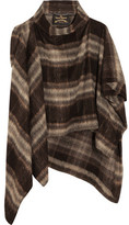 Vivienne Westwood Gaia Brushed Knitted Cape