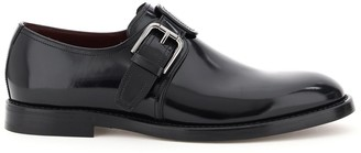 Dolce & Gabbana Buckle Detailed Oxfords