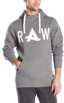 G Star Men's Afro Jack Art Hooded SW Long Sleeve Sweatshirts
