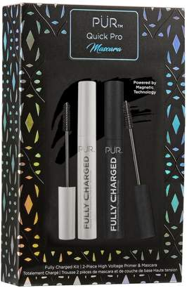 Pur Quick Pro Fully Charged Primer & Mascara Set