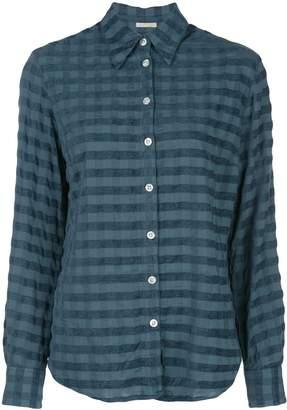 Massimo Alba checked print shirt