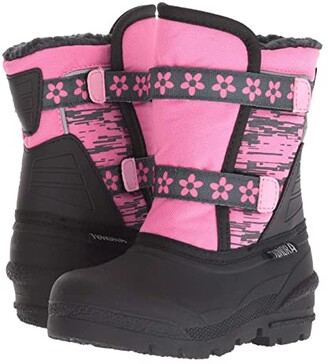 Tundra Boots Kids Pico (Toddler) (Pink) Girls Shoes