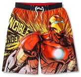 Iron Man Boys' Swim Trunk